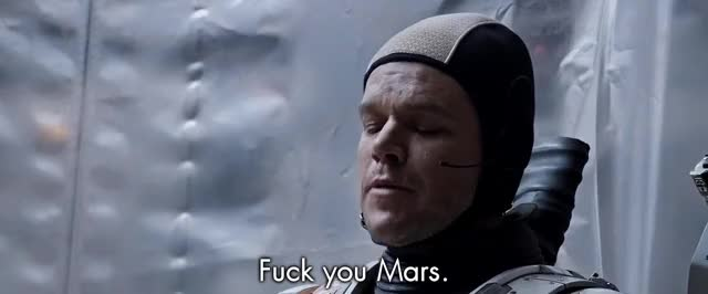 Watch Fuck you, Mars - The Martian GIF by Smoke-away (@smoke-away) on Gfycat. Discover more reactiongifs GIFs on Gfycat