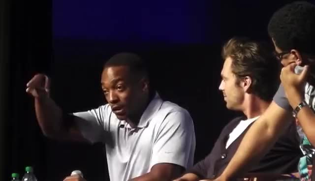Watch Cut the check GIF on Gfycat. Discover more anthony mackie GIFs on Gfycat