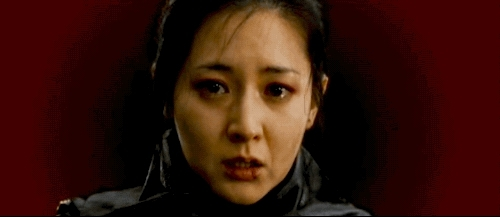 beauty, beauty in cinema, cinema, fashion, film, lee yeong-ae, makeup, movies, park chan wook, sympathy for lady vengeance, weaponised beauty, yeong ae lee, darklipsdarknips GIFs