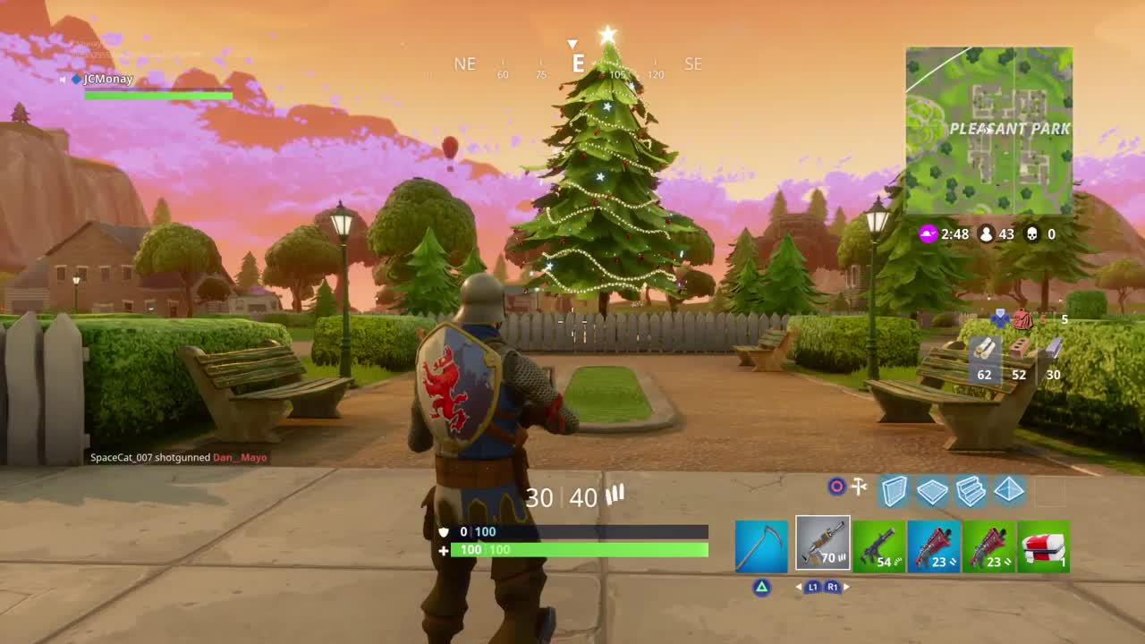 pleasant park christmas tree gif by joshua cash jcmoany find make share gfycat gifs - pleasant park fortnite