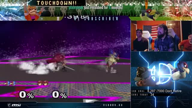 Mang0 Dominates Zain on his counterpick