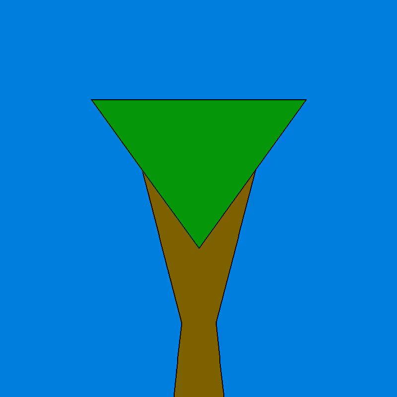 proceduralgeneration, Tree 3 GIFs