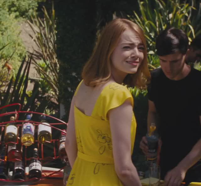 Watch Mia Smirk and Laugh - Emma Stone GIF by La La Land (@lalaland) on Gfycat. Discover more emmastone, lalaland, lionsgate, movies GIFs on Gfycat
