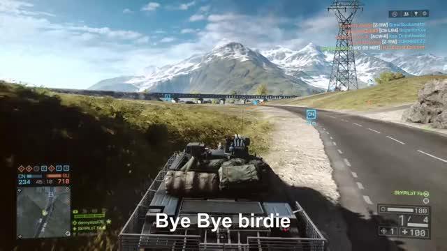 Watch Bye Bye Birdie GIF by Gamer DVR (@xboxdvr) on Gfycat. Discover more Battlefield4, SkYPiLoT Fa, xbox, xbox dvr, xbox one GIFs on Gfycat
