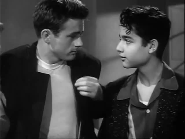 James dean sal mineo theme interesting