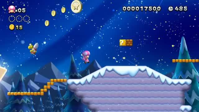 New Super Mario Bros U Deluxe Announcement Trailer Nintendo