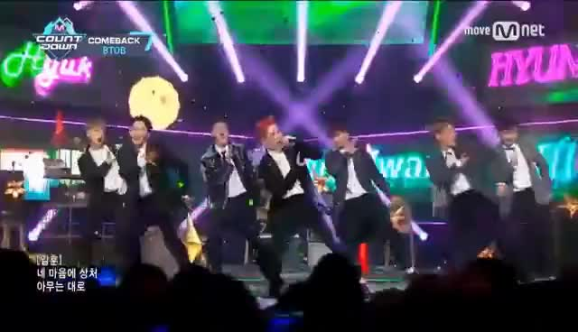 Watch and share [BTOB - Movie] Comeback Stage | M COUNTDOWN 170309 EP.514 GIFs on Gfycat