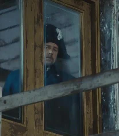 Javert, LesMis, LesMiserable, celebs, russell crowe, Javert At Window - Les Miserables GIFs