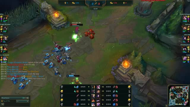 Watch and share Ahri Charm Flash Around Minion GIFs by explodingmuffins on Gfycat