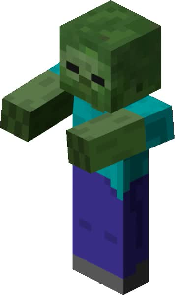 Watch and share Minecraft Zombie GIFs on Gfycat