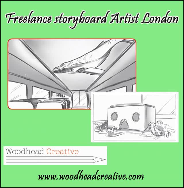 Watch and share Freelance Storyboard Artist London | Woodhead Creative GIFs by woodheadcreative on Gfycat