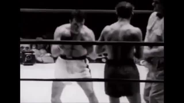 Watch Marcel Cerdan KO's Tony Zale in 1948 GIF by @vhs_dream on Gfycat. Discover more boxing GIFs on Gfycat