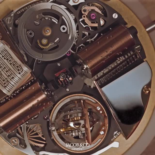 Watch Jacob & Co Opera Godfather Edition GIF by PM_ME_STEAM_K3YS (@pmmesteamk3ys) on Gfycat. Discover more Godfather, Jacob & Co, Jacob&Co, Monochrome Watches, Opera, automaton, chiming watch, high-end watch, tourbillon, triple axis tourbillon GIFs on Gfycat