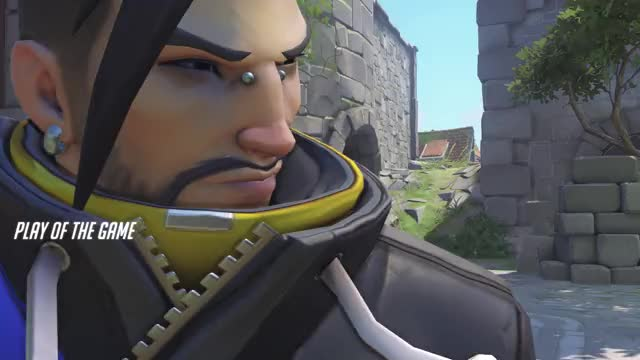 Watch and share Overwatch GIFs and Hanzo GIFs by mercymain21 on Gfycat