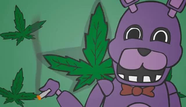 FNAF, weed GIFs