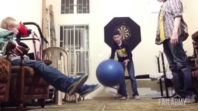 Epic Exercise Ball Fails || FailArmy GIF | Find, Make