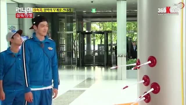 Kim Woo Bin ơi, hãy luôn vui vẻ và tràn đầy năng lượng như những khoảnh khắc trong Running Man này nhé! ảnh 3