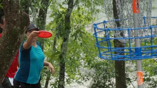 Watch and share Jennifer Mcgibbon GIFs and Valarie Jenkins GIFs by Ultiworld Disc Golf on Gfycat