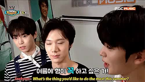 Watch In which Doyoung barely escapes with his life.. (trans.) GIF on Gfycat. Discover more doyoung, g:sr15b, gif, jaehyun, mine, predebut, smrookies, sr15b, ten, ten chittaphon GIFs on Gfycat