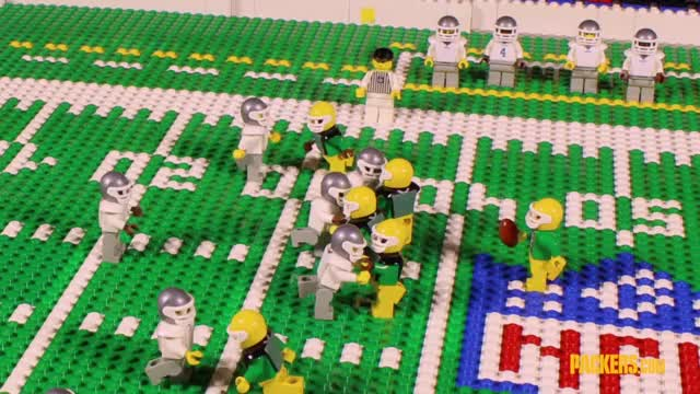 Watch and share Lego Highlights: Packers Win Thriller In Dallas GIFs on Gfycat
