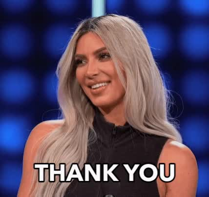 Watch this kim kardashian GIF by The GIF Smith (@sannahparker) on Gfycat. Discover more family feud, kim kardashian, thank you, thanks GIFs on Gfycat
