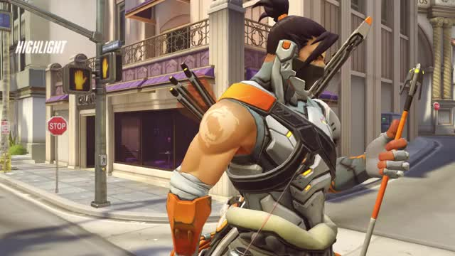 Watch and share Overwatch GIFs and Hanzo GIFs by tannerJ- on Gfycat