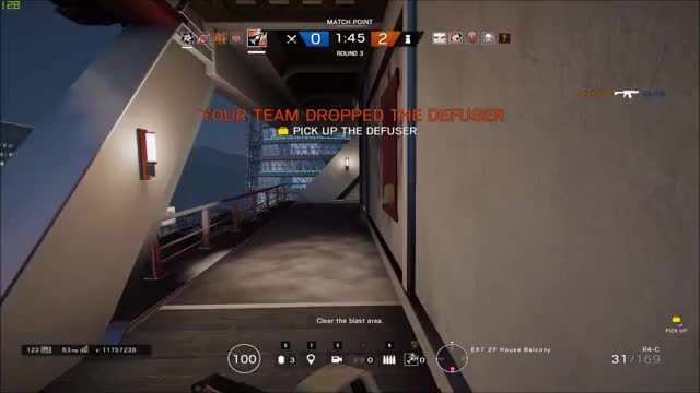 Watch and share Rainbow6 GIFs and Siege GIFs by DeathRtH on Gfycat