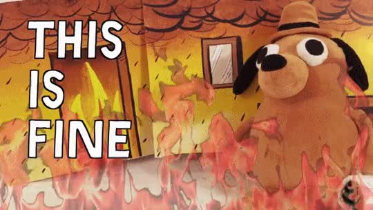 Watch this is fine GIF on Gfycat. Discover more azcardinals, cfb GIFs on Gfycat