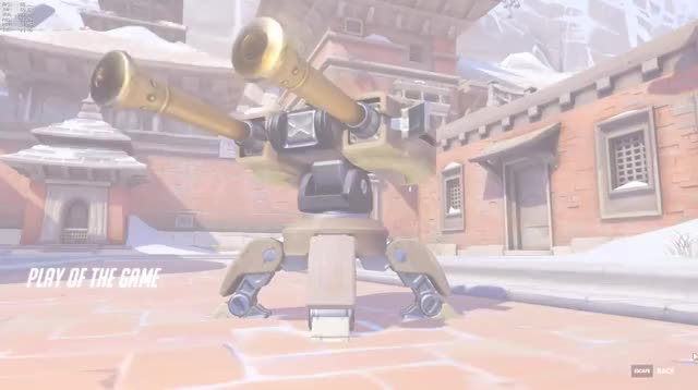 Overwatch torbjorn play of the game video
