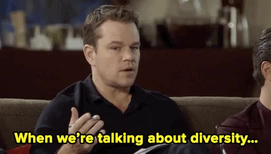 Watch damon-diversity-2 GIF on Gfycat. Discover more matt damon GIFs on Gfycat