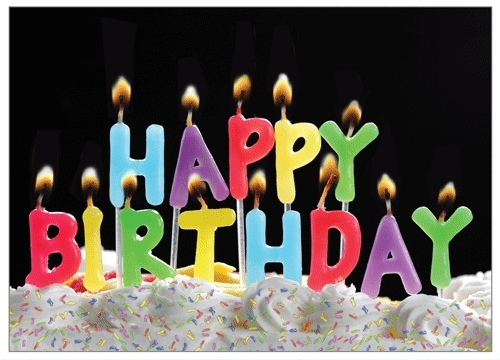 Birthday Candle GIF