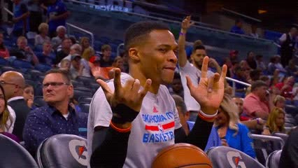 032917, basketball, dance, russell westbrook, Russell Westbrook — Oklahoma City Thunder GIFs