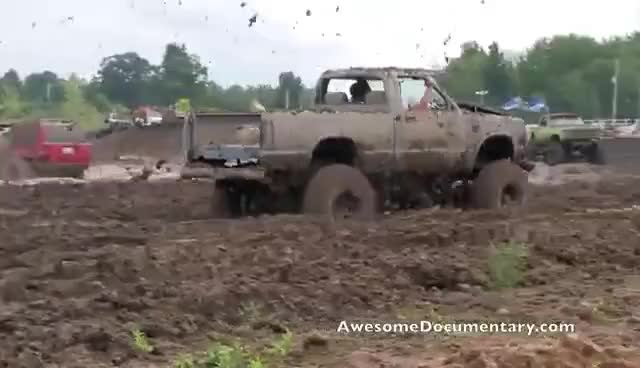 Trucks Gone Wild Michigan >> Mud Trucks Gone Wild Michigan Mud Jam Gif Find Make Share