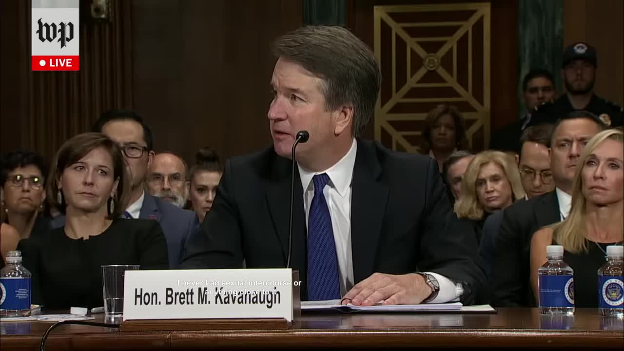 News & Politics, brett kavanaugh, confirmation, hearing, kavanaugh, lkmnmsdefglj, me irl, self own, senate, me irl GIFs