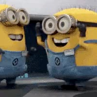 Watch and share Excited Minions GIFs on Gfycat