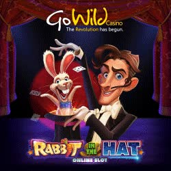 Watch and share Gowild 100 Free Pokies Exclusive No Deposit Rabbit In The Hat GIFs on Gfycat