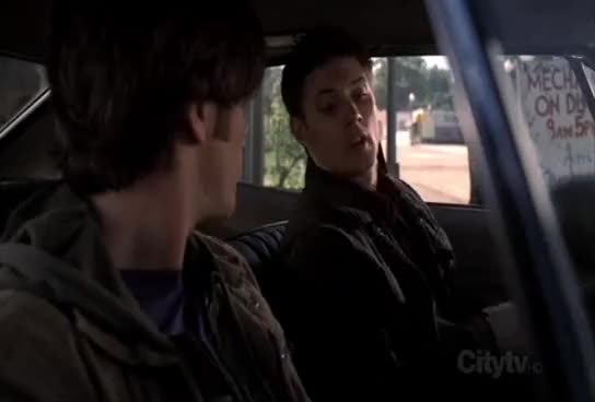 Watch Dean 1x01 : Shotgun_Cakehole GIF on Gfycat. Discover more 1x01, Dean, impala, sam, supernatural, winchester GIFs on Gfycat