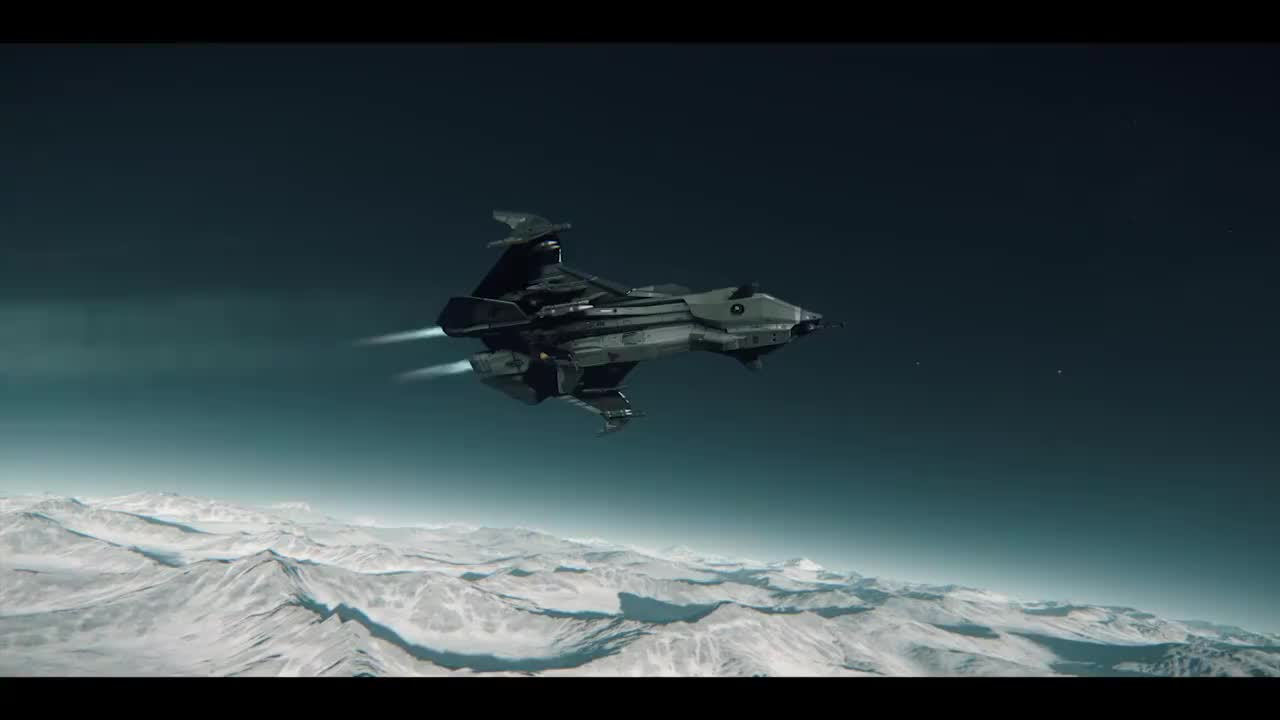 starcitizen, What ship will you be flying the first time you land surface-side? (Video and question from Star Citzen Facebook) (reddit) GIFs
