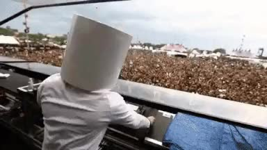 Watch I created a gif of marshmello dancing that works with almost any song : EDM GIF on Gfycat. Discover more related GIFs on Gfycat