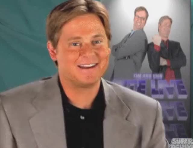 Watch Tim and Eric Nite Live Conversation Promo GIF on Gfycat. Discover more Eric Wareheim, timanderic GIFs on Gfycat