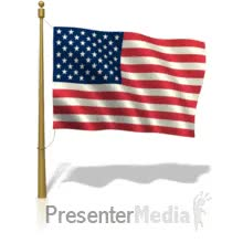 Watch and share ID# 502 - American Flag Flying - PowerPoint Animation GIFs on Gfycat