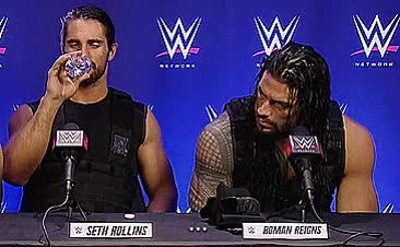 Watch and share Dean Ambrose GIFs and Roman Reigns GIFs on Gfycat