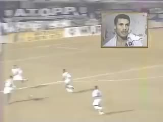 Watch and share Golaço Do Rivaldo - Palmeiras X Ponte Preta - 1995 GIFs on Gfycat
