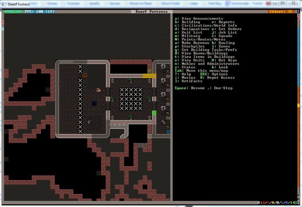 Reclaiming Items Stuck Inside Bins, Barrels, Bags, and Cages: A Guide by Mechanixm : dwarffortress GIFs