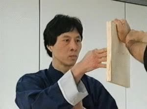 Watch master kwok breaks board using ging GIF on Gfycat. Discover more related GIFs on Gfycat