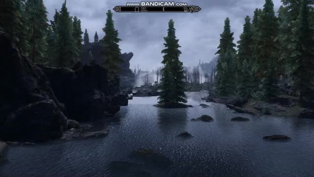 Watch and share SkyrimSE Water LOD Issue Solitude GIFs by dorsum on Gfycat