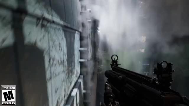 Watch and share GIF Necromunda Hired Gun Running And Gunning SHORT ESRB GIFs on Gfycat