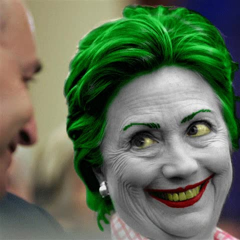 Watch and share Hilary Clinton Funny Face GIFs on Gfycat