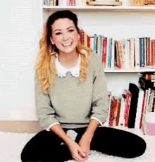 Watch Zoe Sugg GIF on Gfycat. Discover more related GIFs on Gfycat