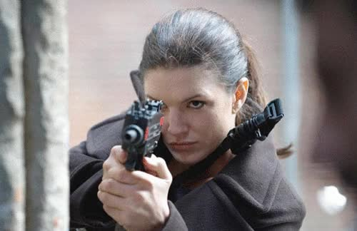 Watch and share Gina Carano GIFs and Gun GIFs on Gfycat